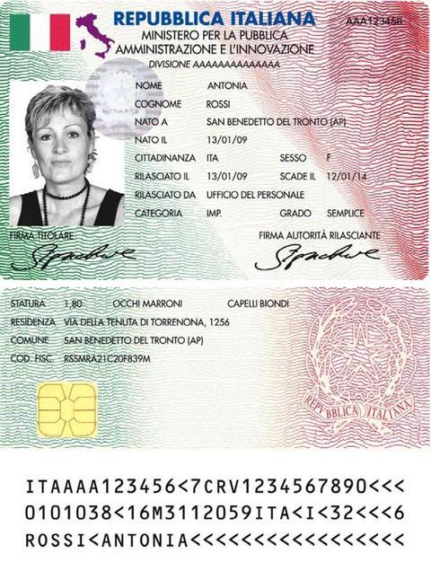 Il ministro brunetta ha presentato la carta elettronica per i